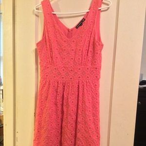 Banana Republic Mad Men collection coral dress
